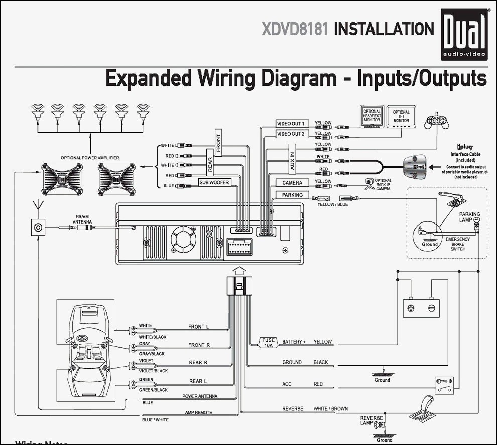 Dual Xdm280Bt Wiring Diagram Latest Car Stereo Peugeot 307 Cd - Dual Xdm280Bt Wiring Diagram