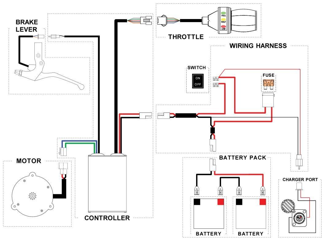 E Bike Controller Wiring Diagram Likewise 7 Pin Round Trailer Plug - 7 Pin Round Trailer Plug Wiring Diagram