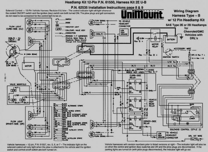 Meyer Plow Wiring Diagram