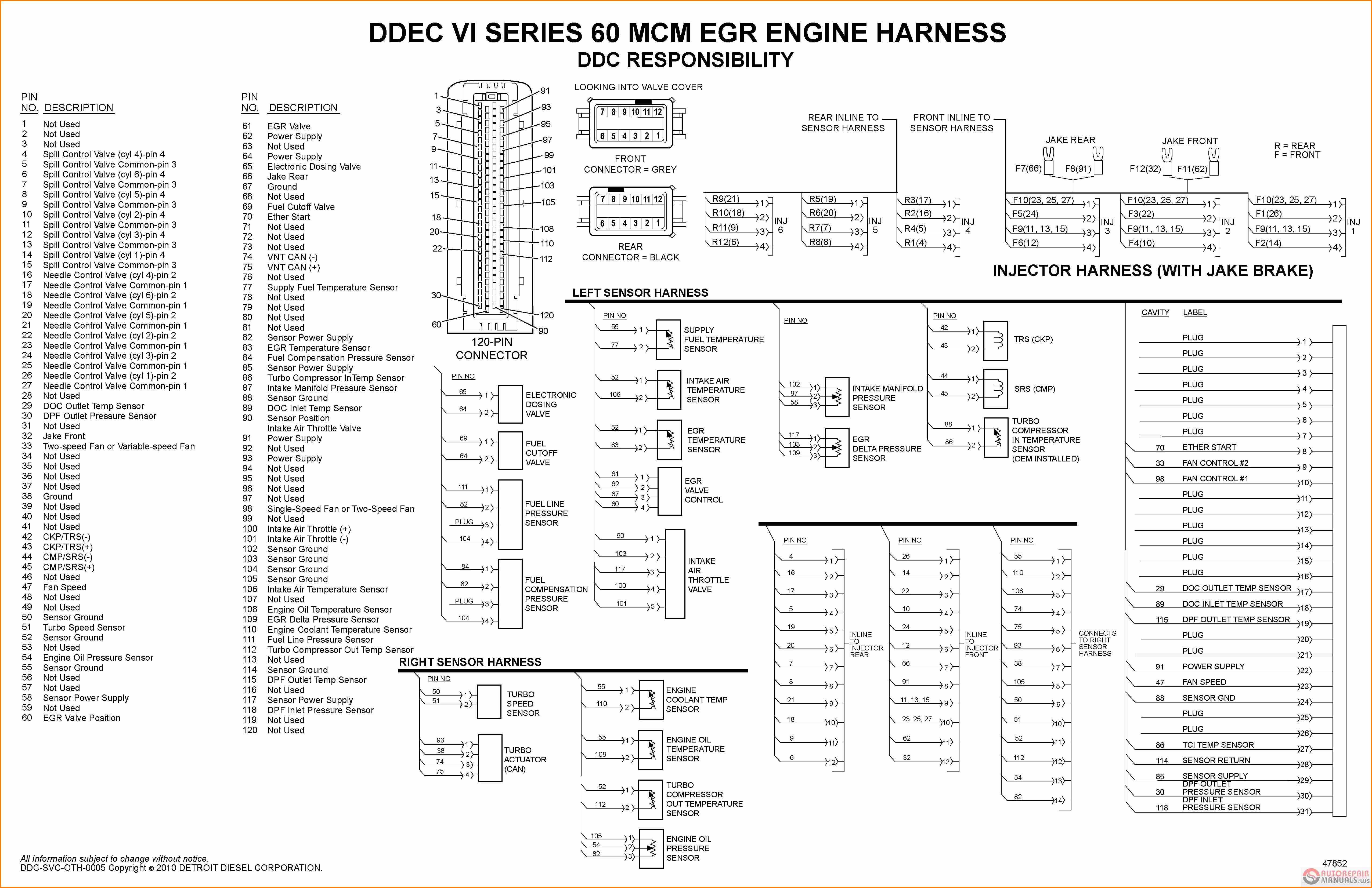 Ecm Detroit Ddec 5 Wiring Diagram | Wiring Diagram - Detroit Series 60 Ecm Wiring Diagram