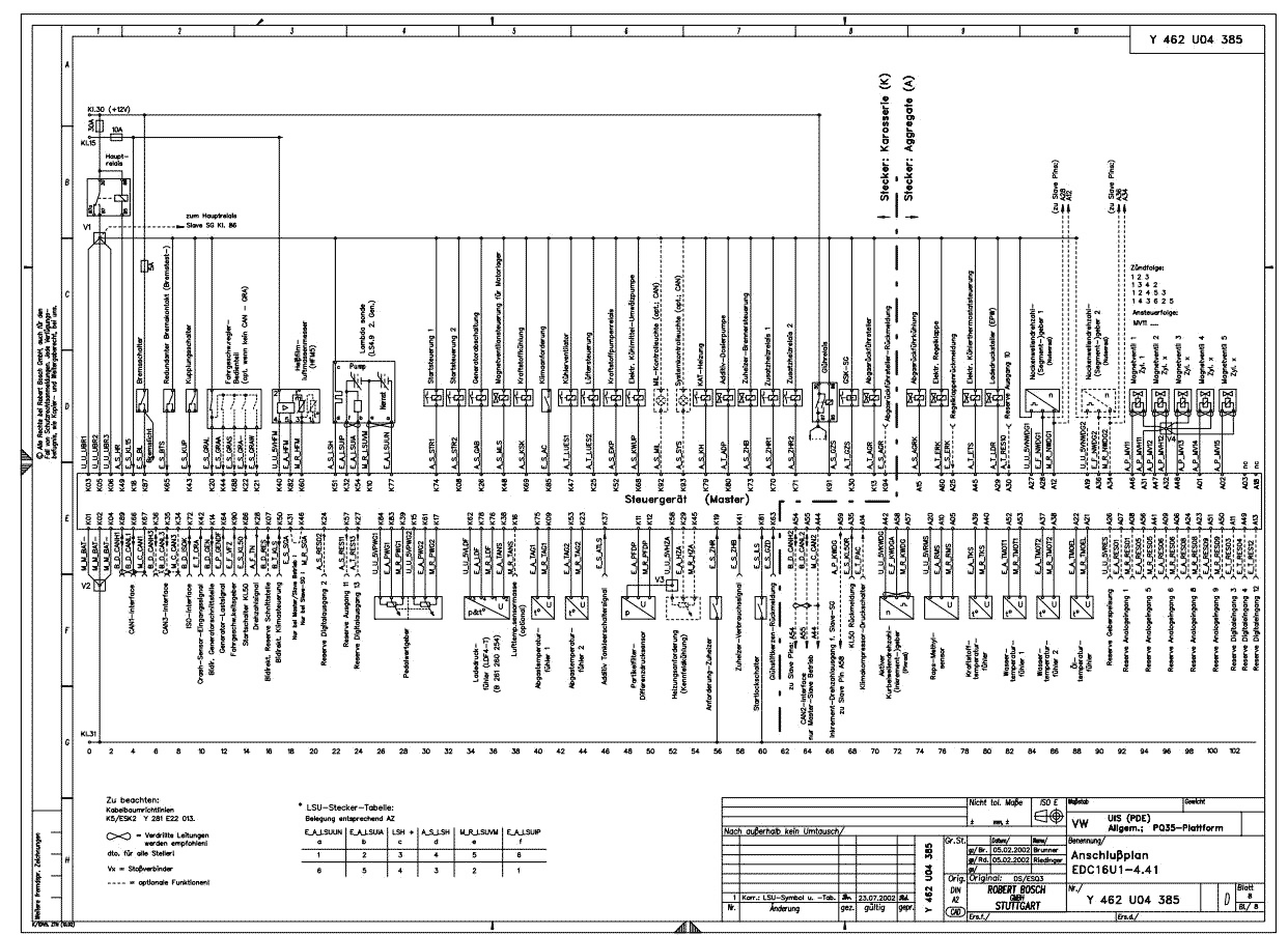 Ecu Circuit Diagram For Bosch (Ecu Schematic) - Autodtc - Ecm Wiring Diagram