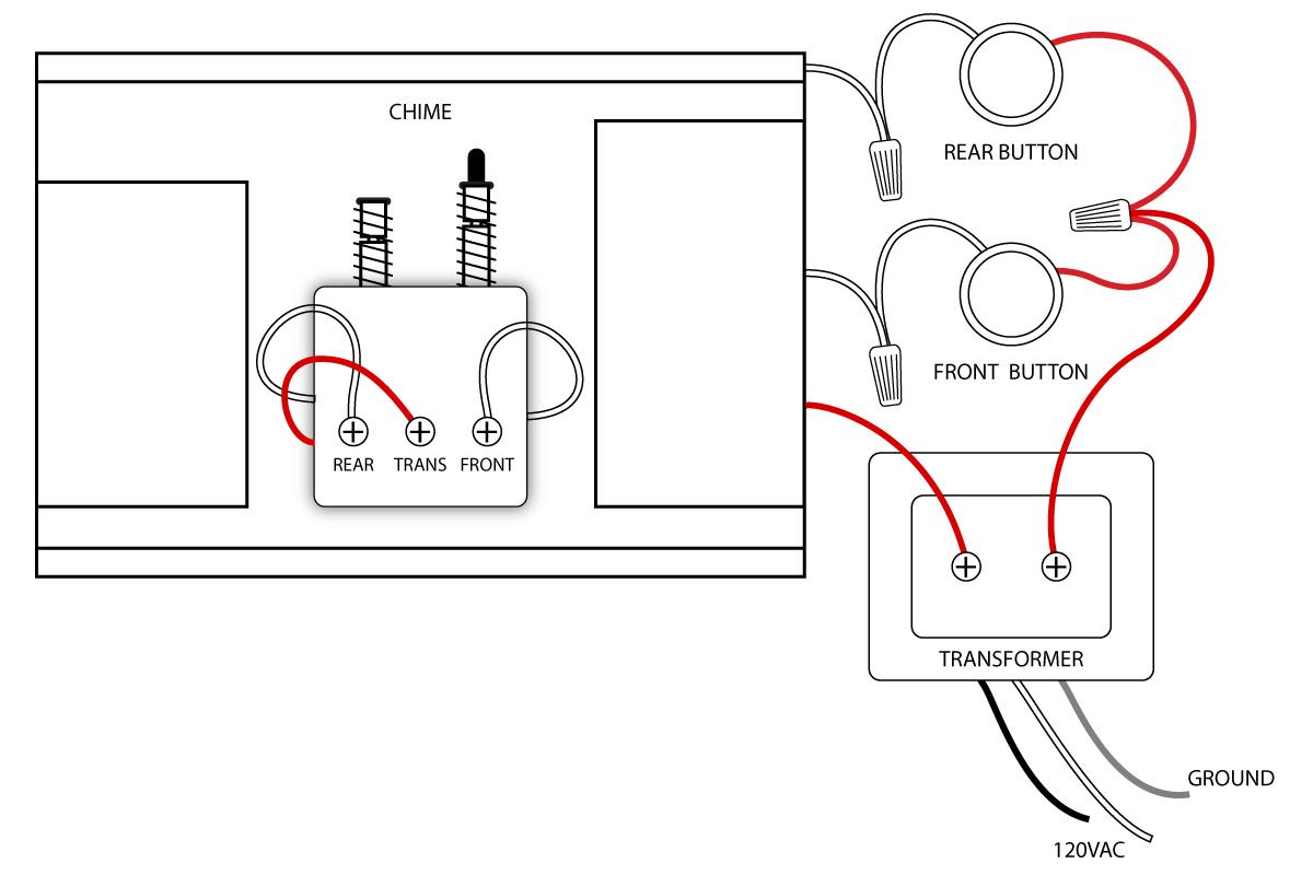 Electric Doorbell Wiring - Today Wiring Diagram - Doorbell Wiring Diagram