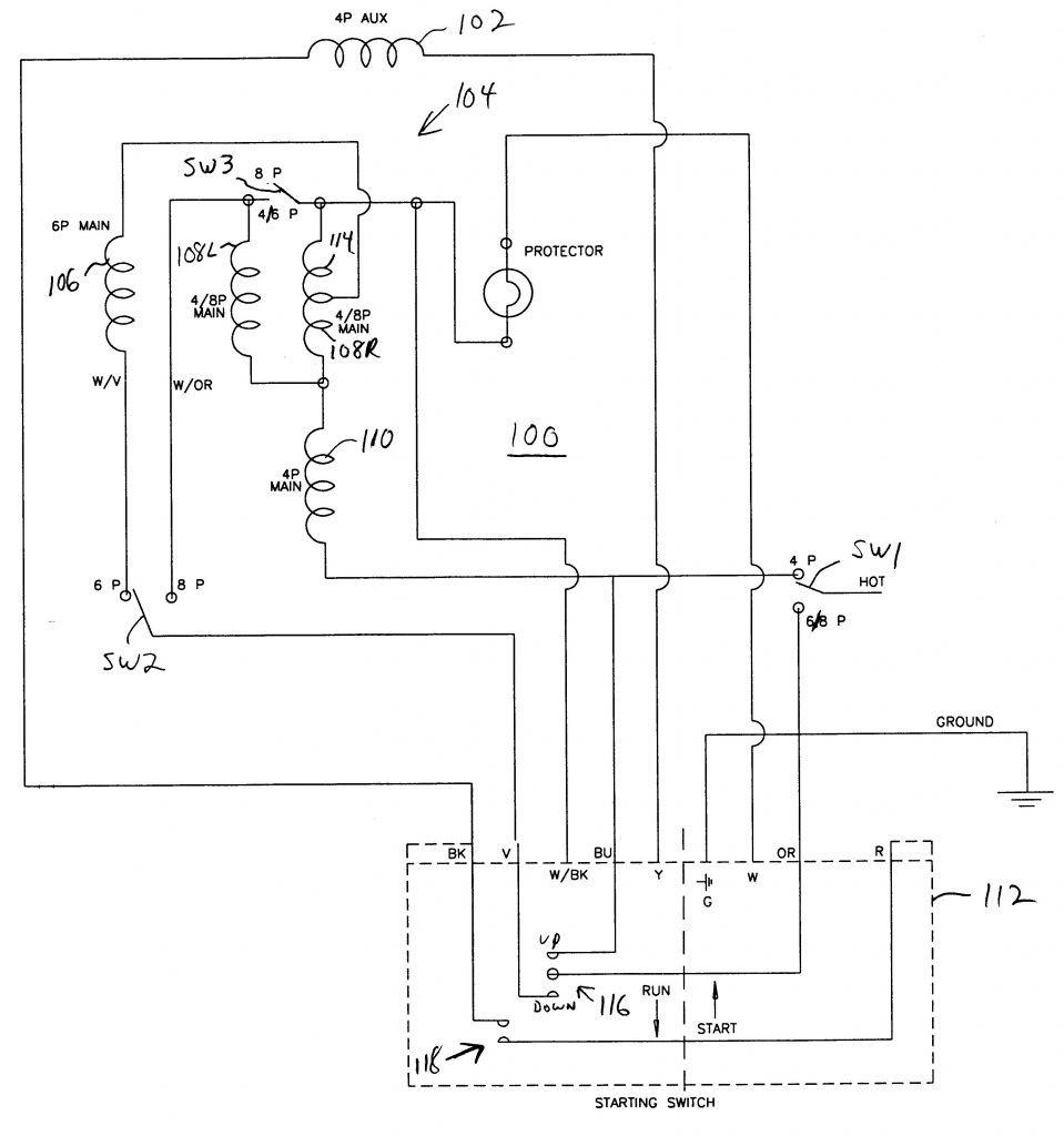 Electric Motor Capacitor Wiring Diagram | Best Wiring Library - Motor Capacitor Wiring Diagram