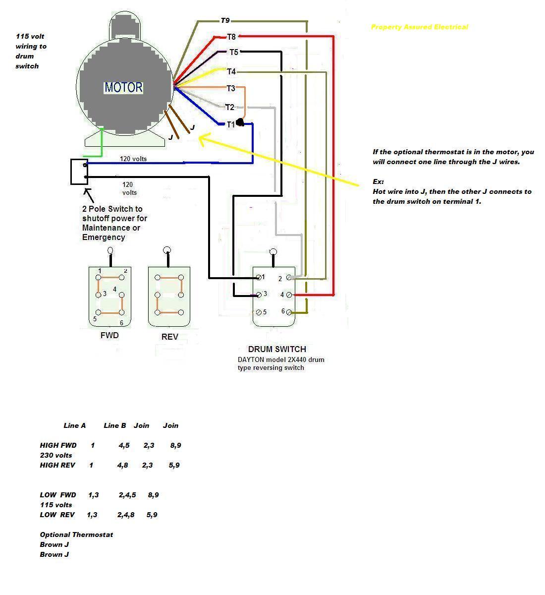 Electric Motor Wiring Diagram 220 To 110 Sample | Wiring Diagram Sample - Electric Motor Wiring Diagram 220 To 110