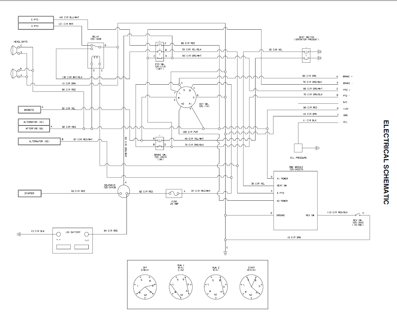 Electric Pto Switch Wiring Diagram | Wiring Diagram - Cub Cadet Pto Switch Wiring Diagram