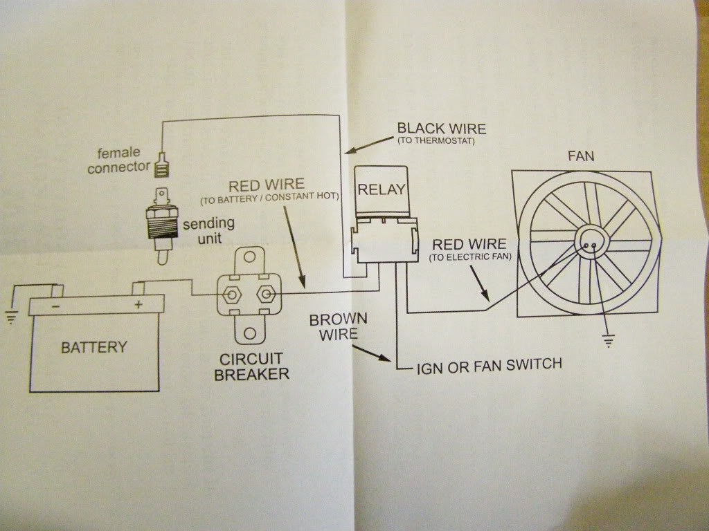 Electric Radiator Fan Wiring Diagram - Lorestan - Electric Radiator Fan Wiring Diagram