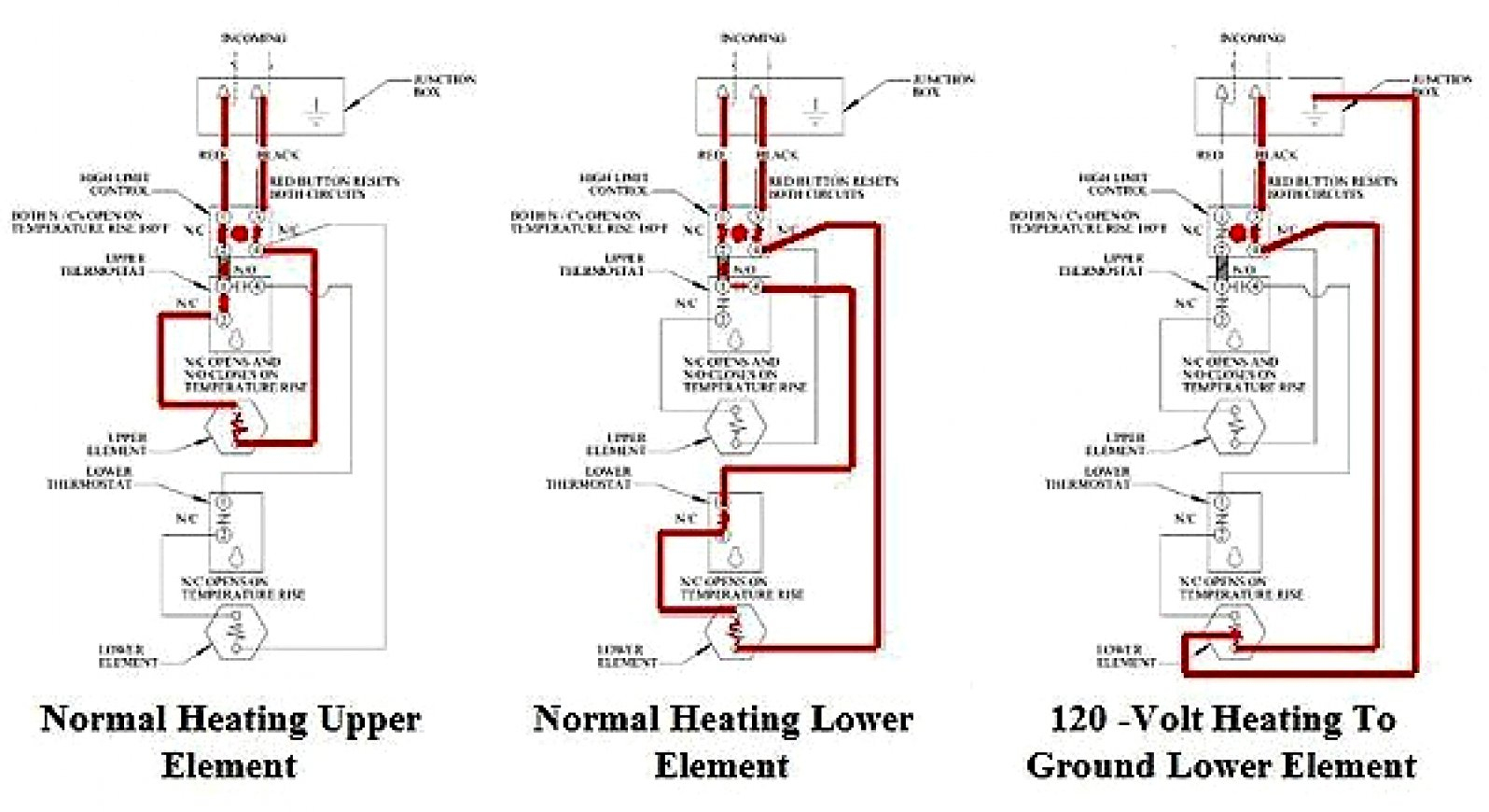 Electric Water Heater Thermostat Wiring Diagram | Wiring Diagram - Electric Water Heater Thermostat Wiring Diagram