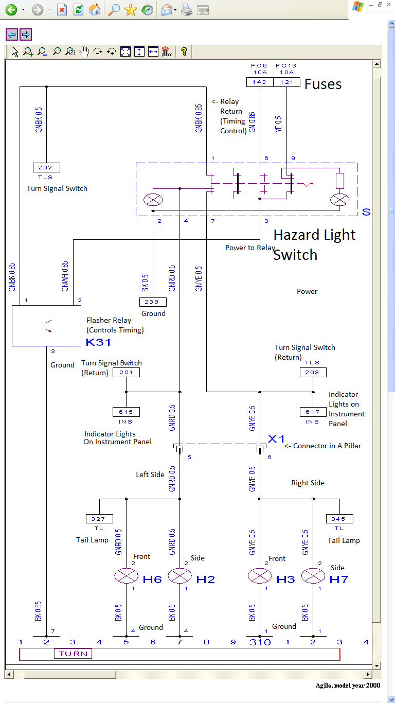 Electrical - Central Locking Help: Why Are There 3 Wires For Each - 3 Wire Tail Light Wiring Diagram