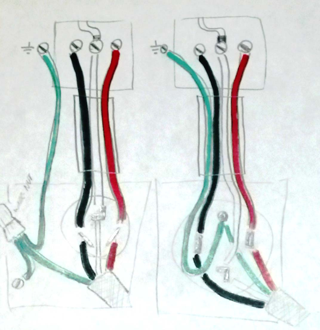 Electrical - Is It Safe To Install A Three Pronged Cable Into A Four - 3 Prong Outlet Wiring Diagram