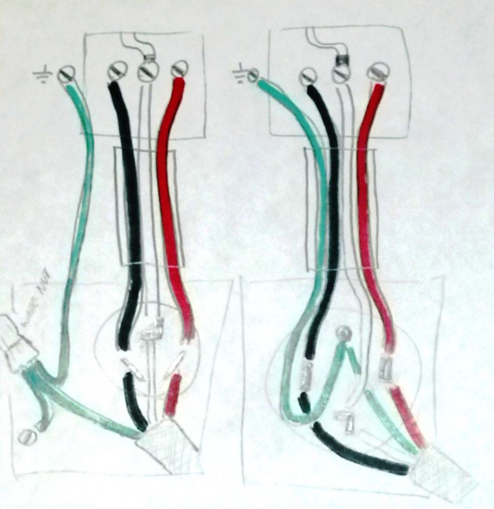 Electrical - Is It Safe To Install A Three Pronged Cable Into A Four