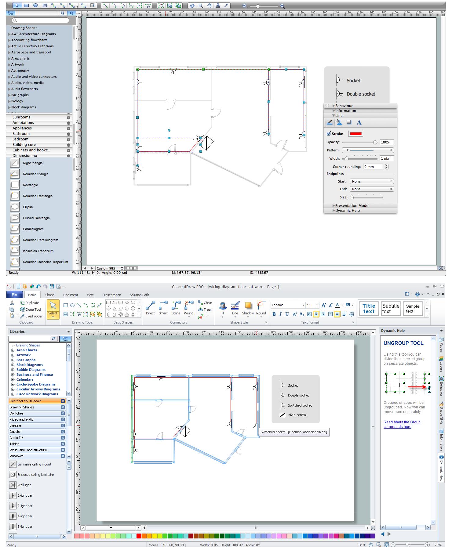 Electrical Plan Maker | Wiring Diagram - Wiring Diagram Software