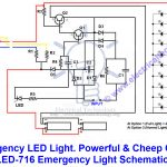 Emergency Led Lights. Powerful & Cheap Led 716 Circuit   Led Wiring Diagram