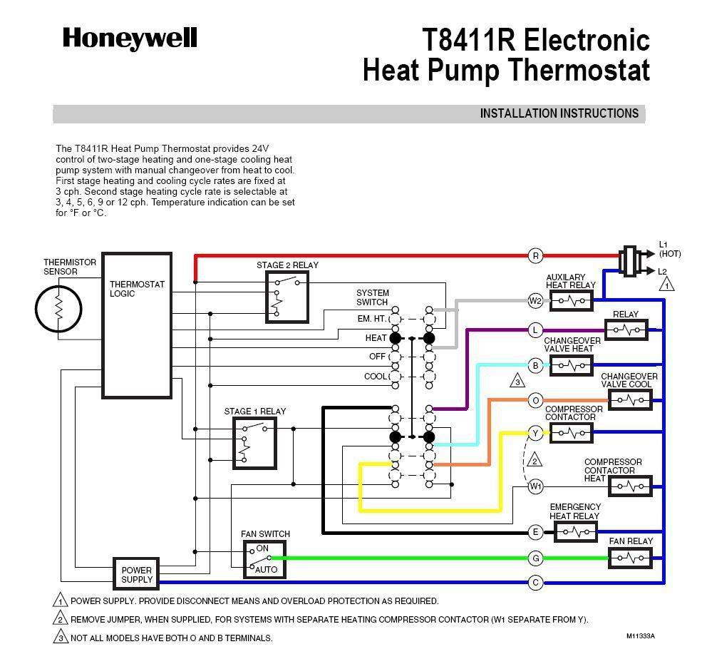Emerson Heat Pump Thermostat Wiring Diagram | Wiring Diagram - Honeywell Heat Pump Thermostat Wiring Diagram