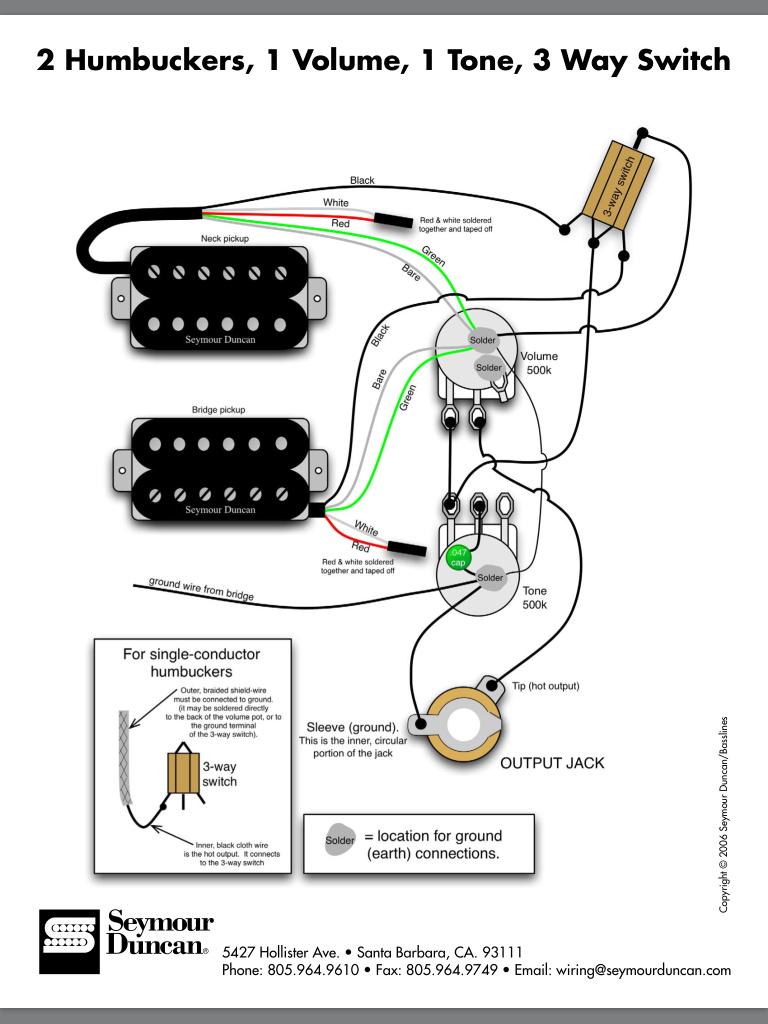 Emg Hz Installation Question 20 5 | Hastalavista - Emg Wiring Diagram