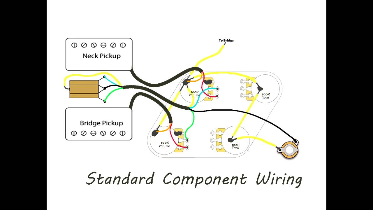 Epiphone Les Paul Wiring Diagram