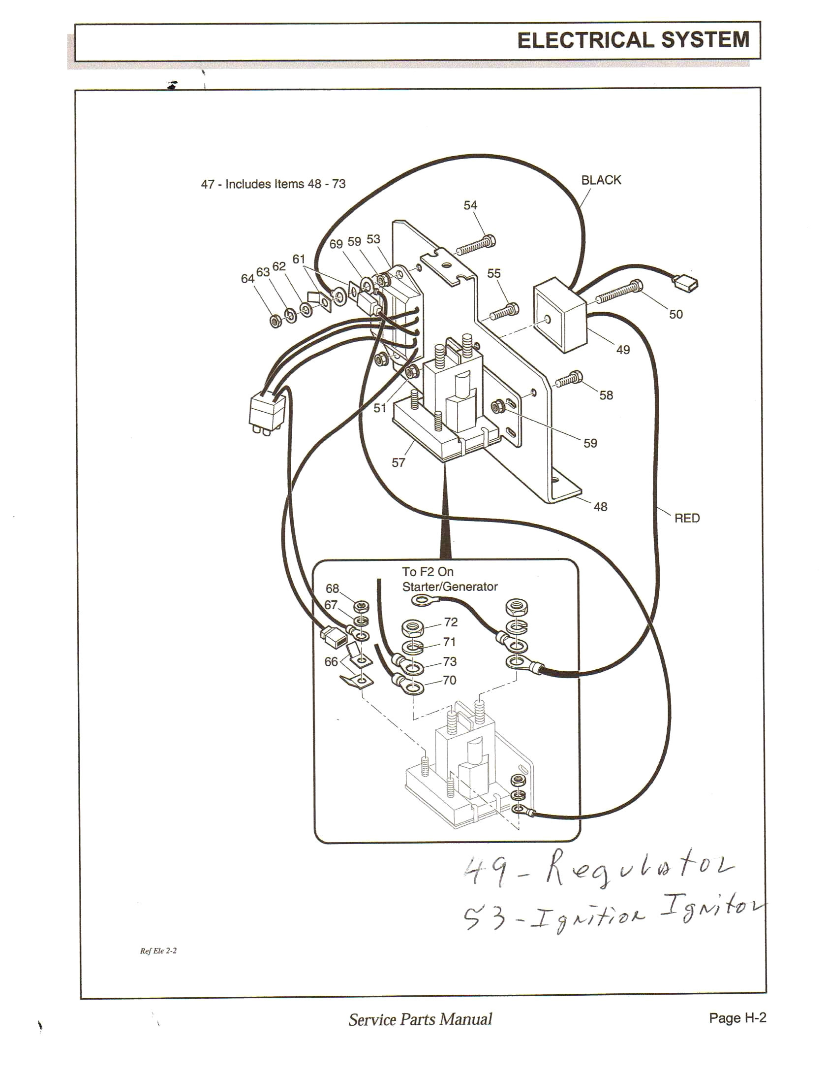 Ez Go Gas Golf Cart Wiring Diagram Pdf