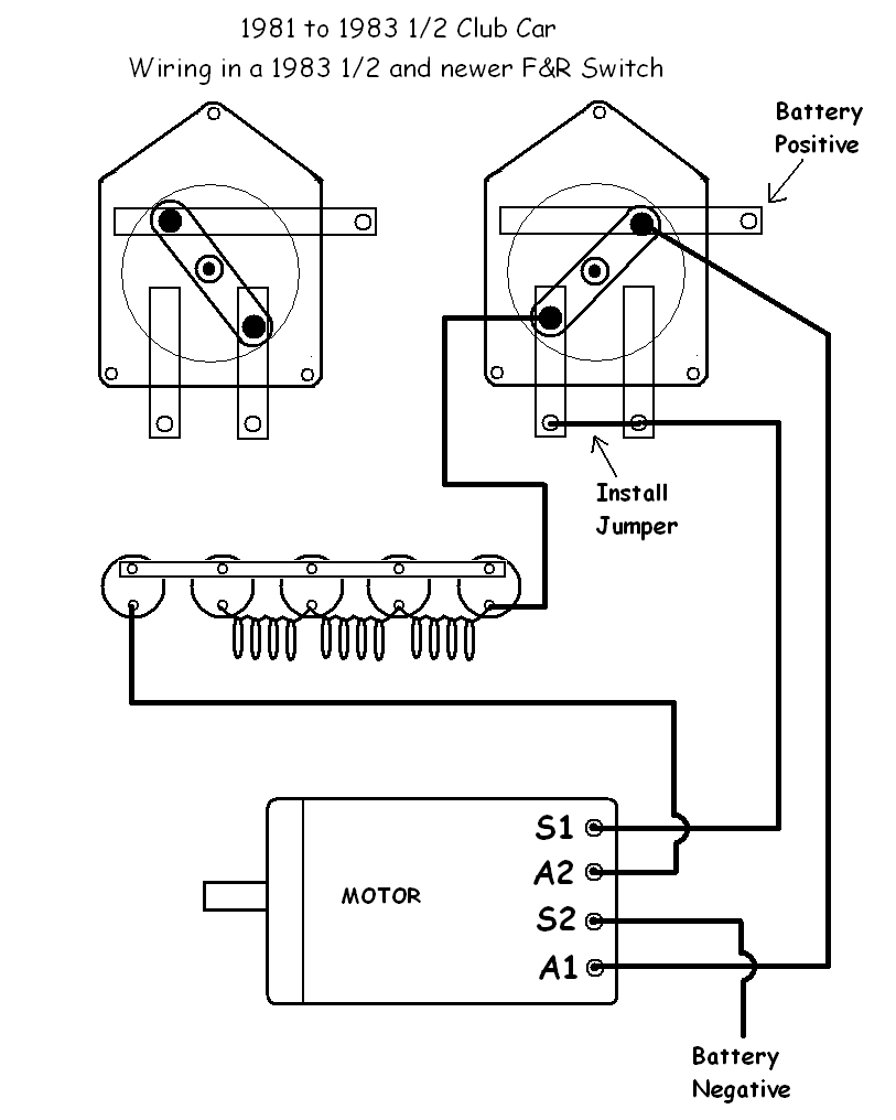 Ezgo Golf Cart Forward Reverse Switch Wiring Diagram | Manual E-Books - Club Car Forward Reverse Switch Wiring Diagram
