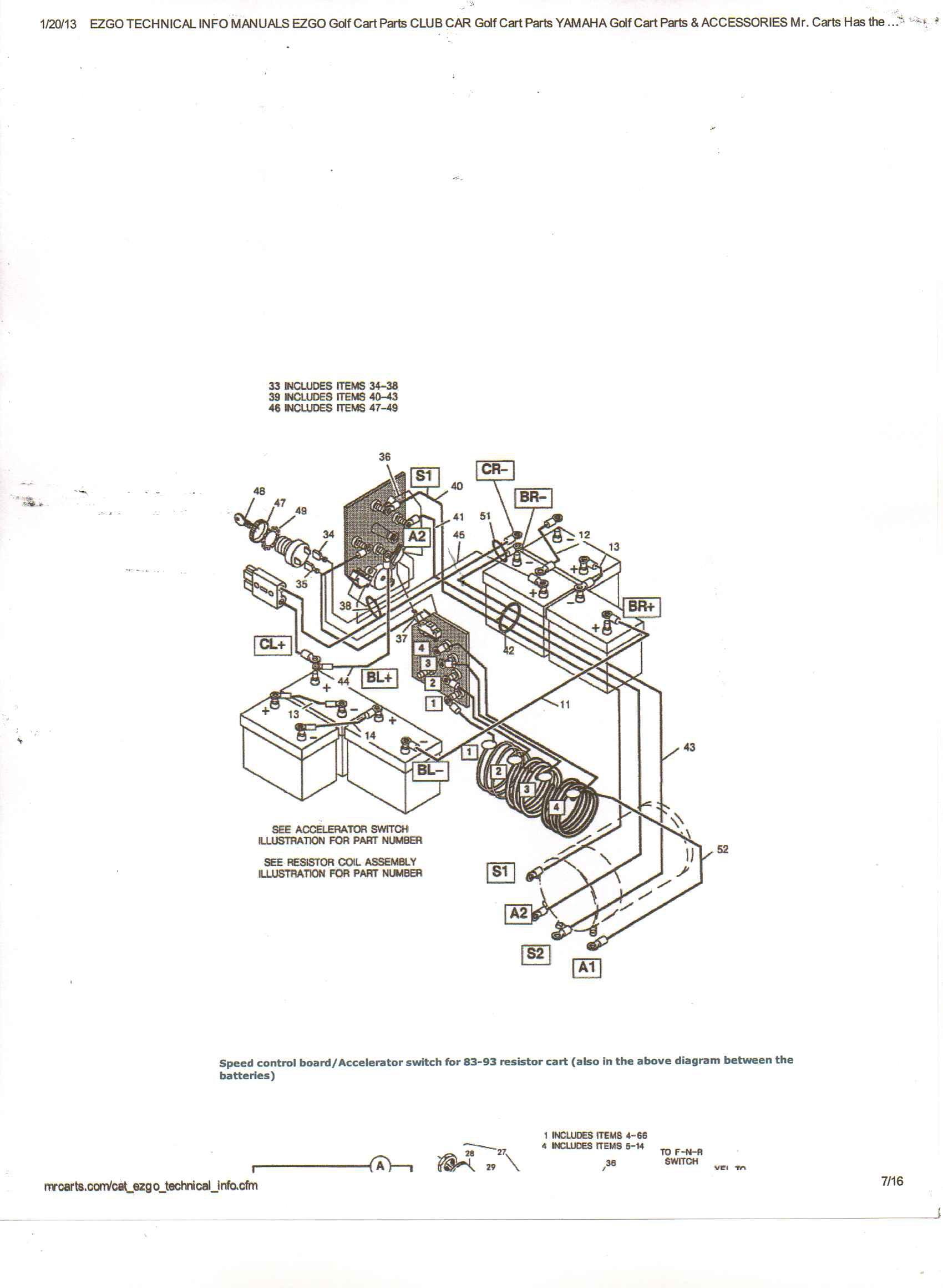 Ezgo Golf Cart Wiring Diagram Tryit Me 3 | Hastalavista - Ezgo Golf Cart Wiring Diagram