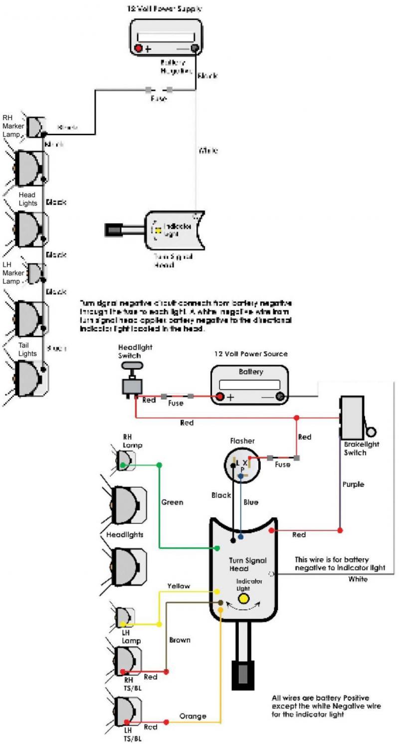Ezgo Turn Signal Wiring Diagram - Wiring Diagram Schematic - Car Horn Wiring Diagram