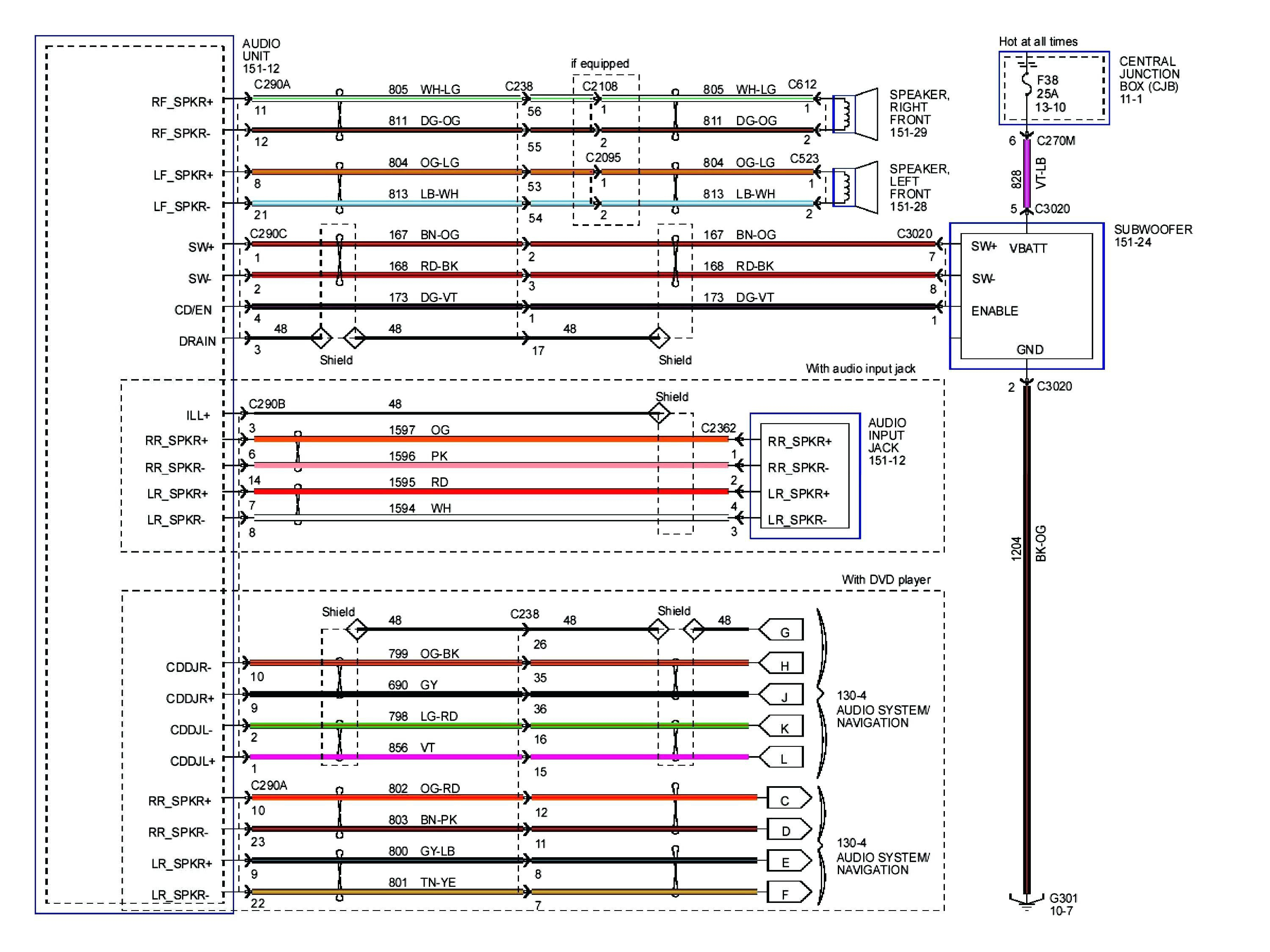 F150 Stereo Wiring Harness - Wiring Diagrams Hubs - 2005 Ford F250 Trailer Brake Controller Wiring Diagram