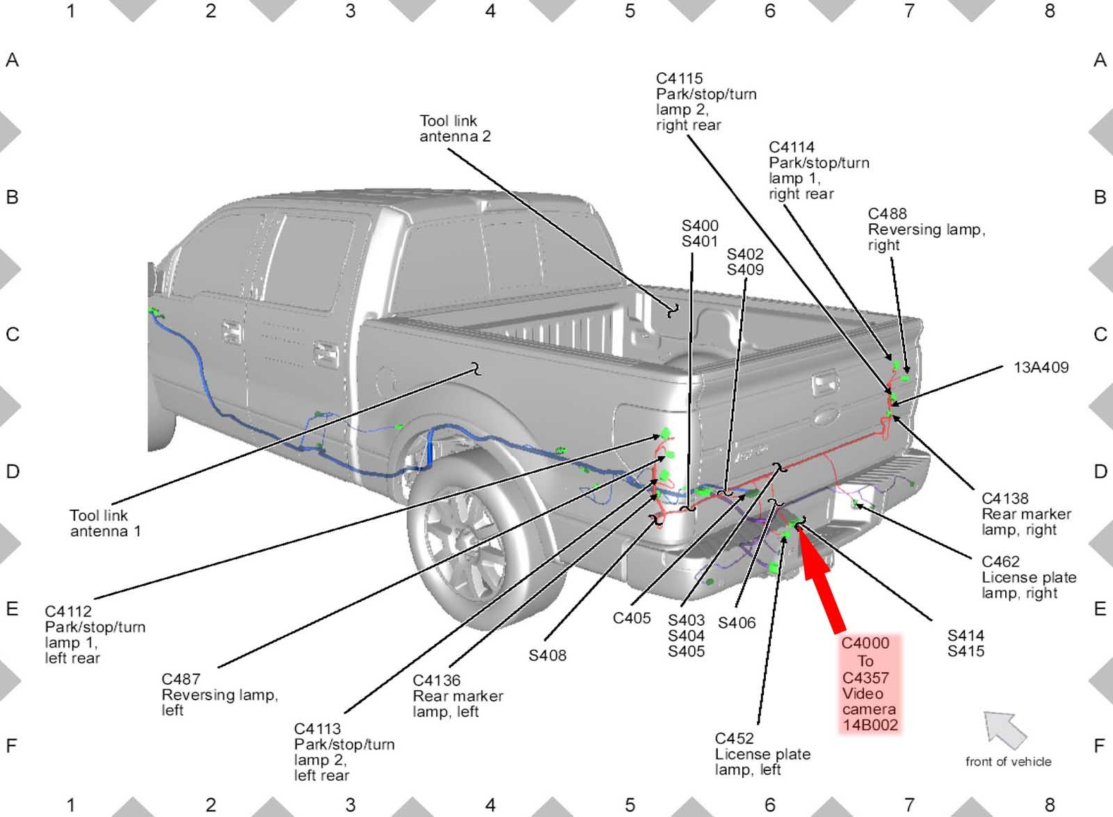 F250 Parts Wiring Harness - Wiring Diagram Data Oreo - Ford F350 Wiring Diagram For Trailer Plug