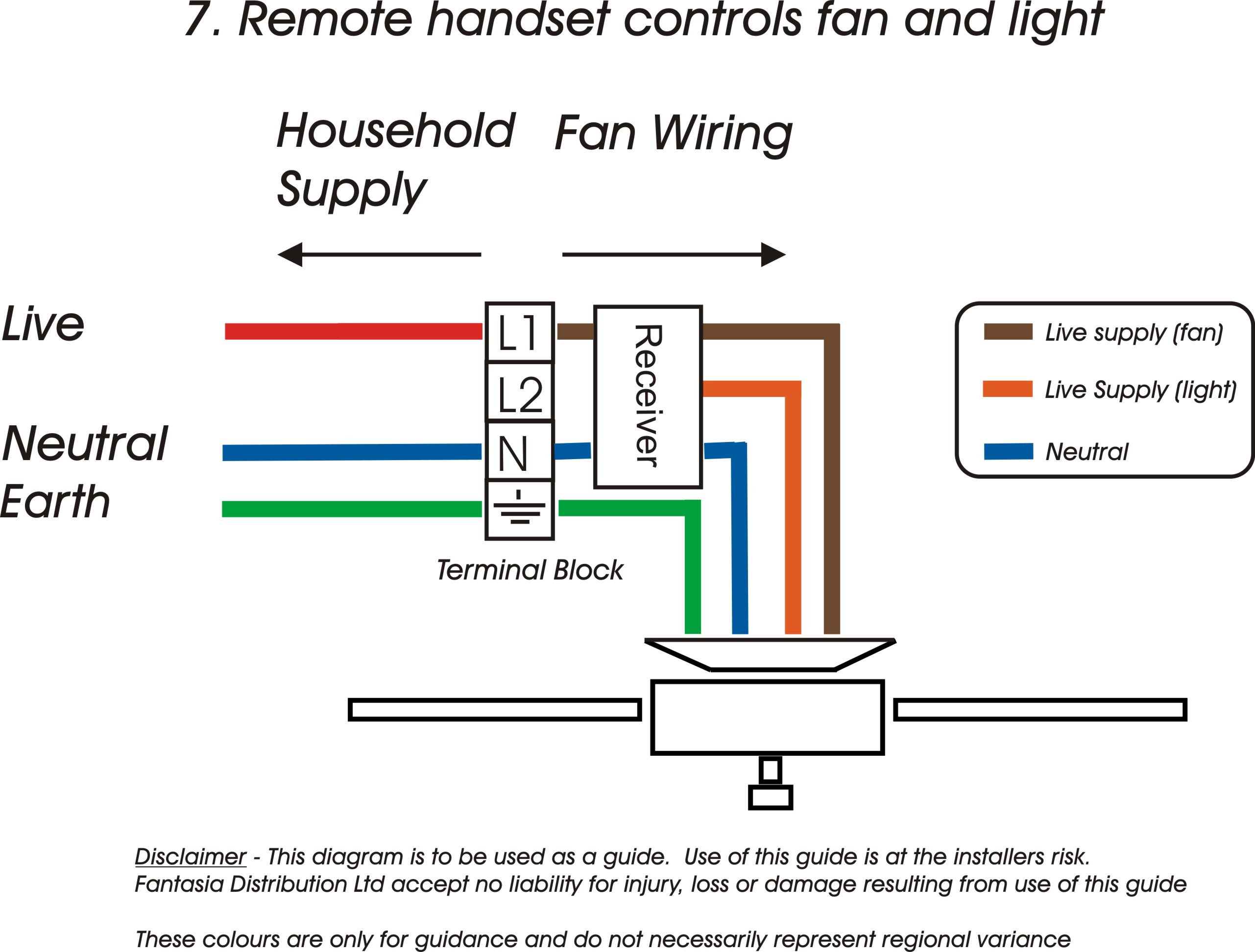 Fantasia Fans   Fantasia Ceiling Fans Wiring Information - Ceiling Fan Wiring Diagram
