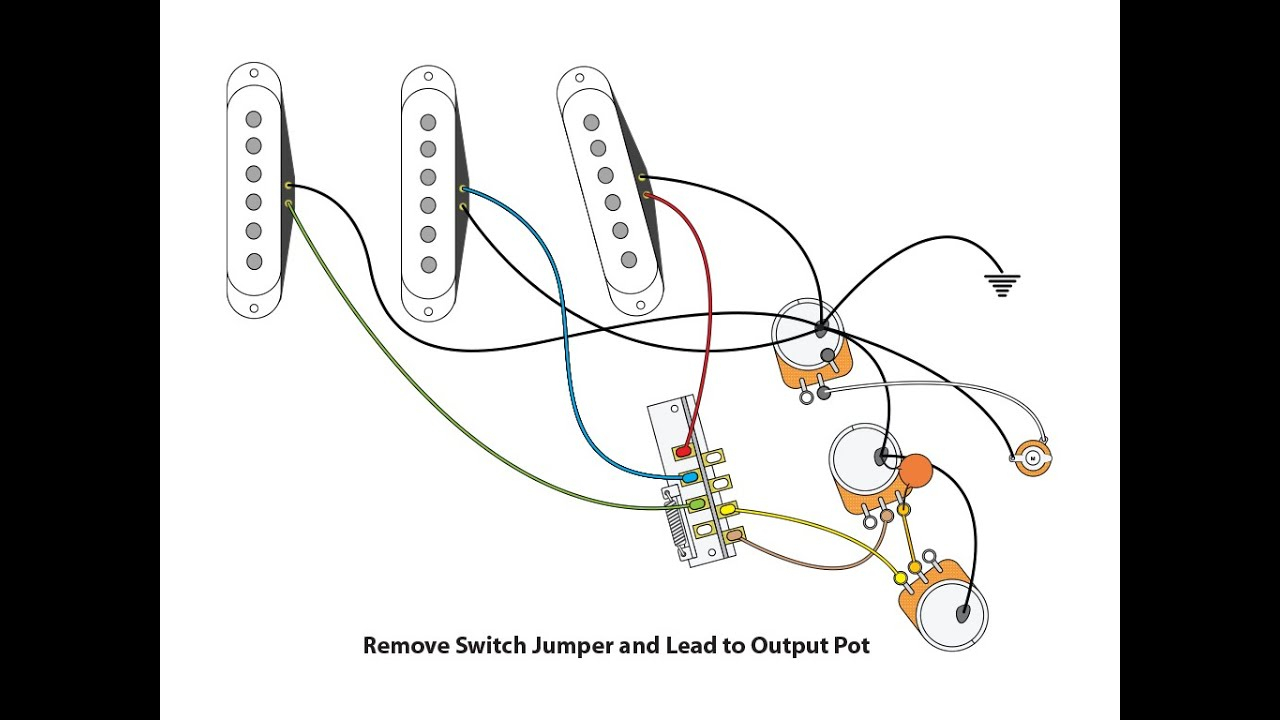 Fender Noiseless Strat Wiring Diagrams | Wiring Diagram - Fender Jaguar Wiring Diagram