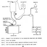 Figure 9. Generator Regulator Removal, Adjustment, And Test Wiring   Wiring Diagram Replace Generator With Alternator
