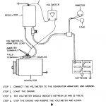 Figure 9. Generator Regulator Removal, Adjustment, And Test Wiring   Wiring Diagram Replace Generator With Alternator