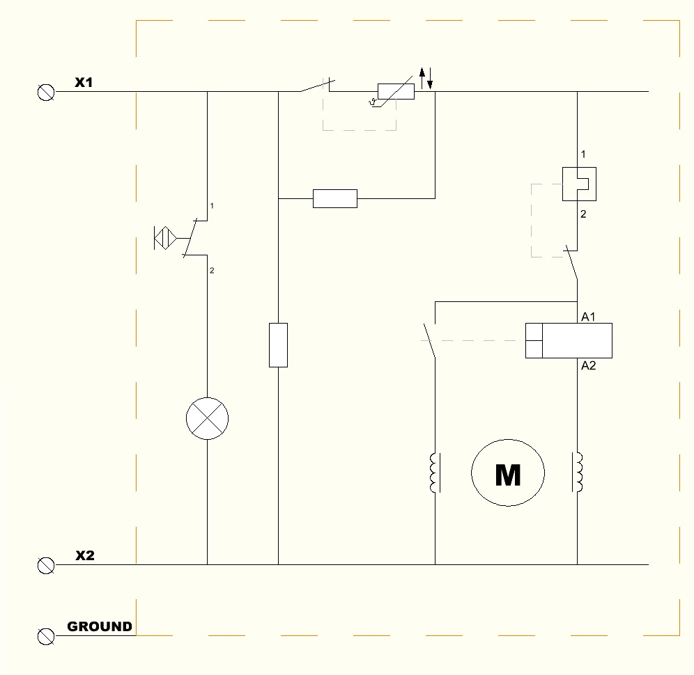 File:schematic Wiring Diagram Of Domestic Refrigerator - Refrigerator Wiring Diagram