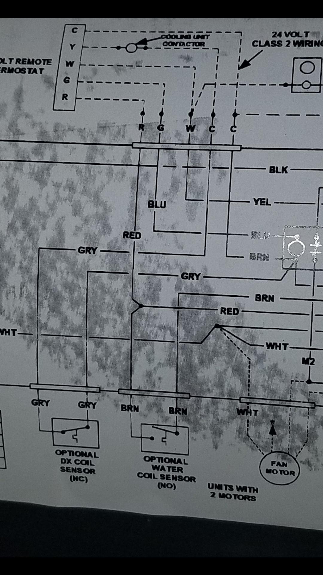 First Co Wiring Standard - Air Handler Wiring Diagram