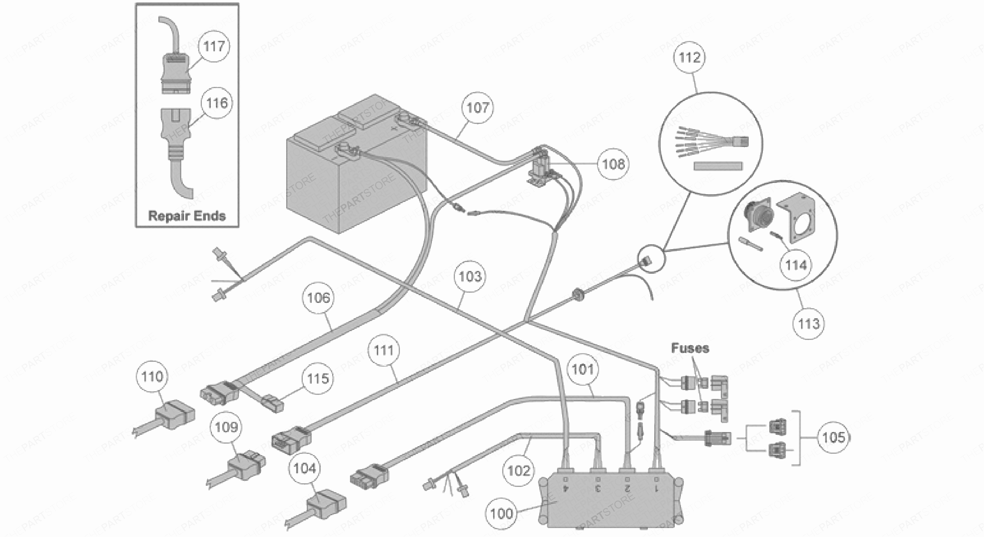 Fisher Minute Mount 2 Wiring Harness Diagram | Wiring Diagram - Fisher 4 Port Isolation Module Wiring Diagram