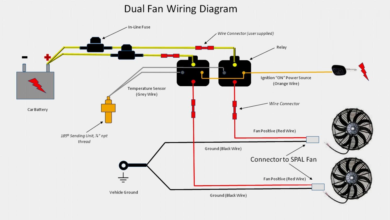 Flexalite Fan Wiring Diagram | Wiring Diagram - Electric Fans Wiring Diagram