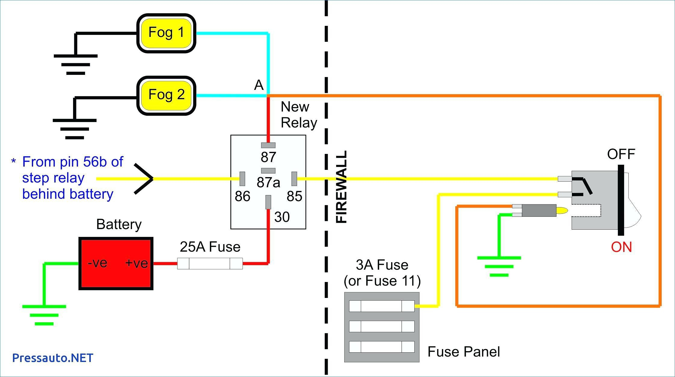 Fog Light Wiring Diagram - Wiring Diagram Data - Fog Light Wiring Diagram