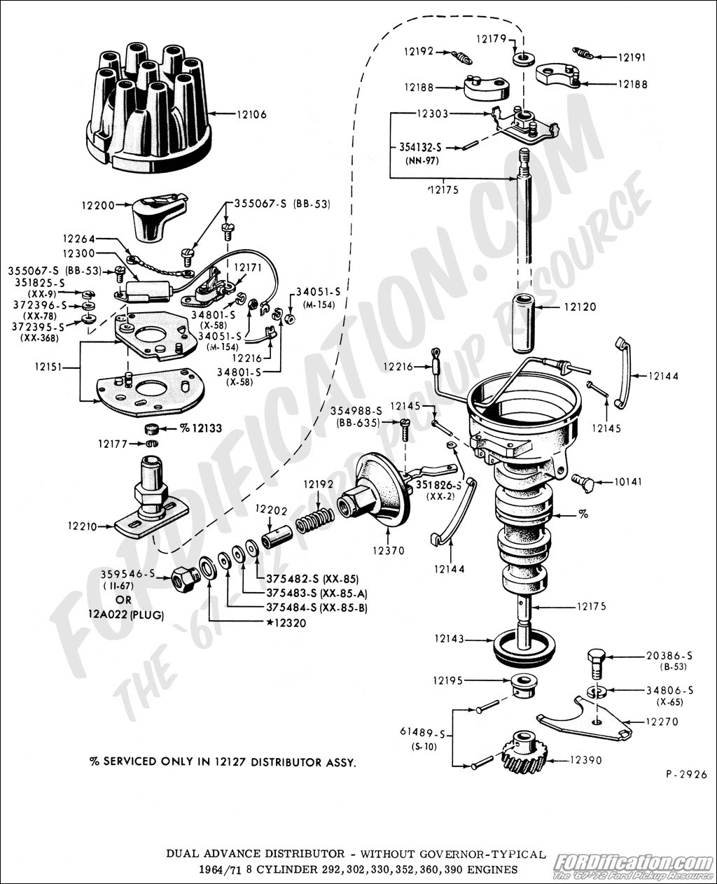 Ford 302 Spark Plug Wiring Diagram | Wiring Diagram - 1997 Ford F150 Spark Plug Wiring Diagram
