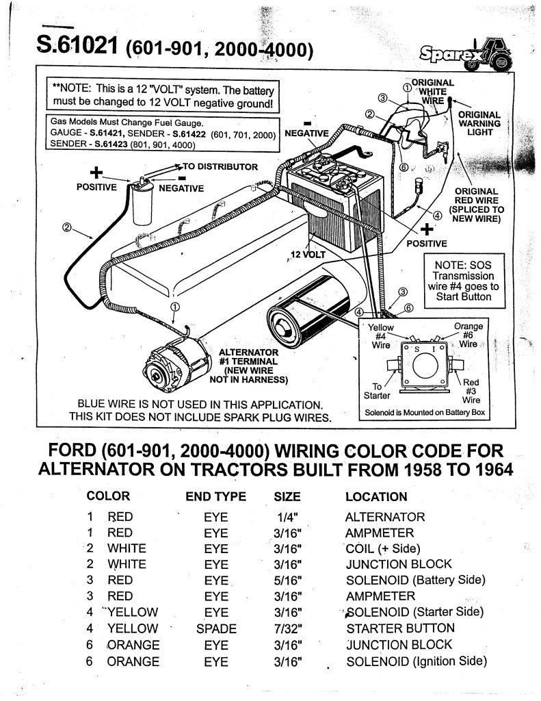 Ford 8N 12 Volt Conversion Diagram - Wiring Diagrams - Ford 8N 12 Volt Conversion Wiring Diagram