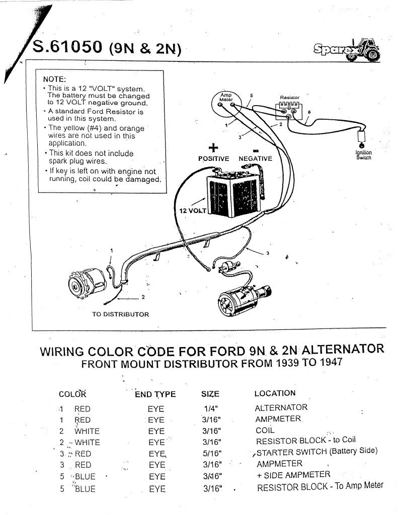 Diagram Wiring Diagrams Ford 640 6 Volt Tractor Full Version Hd Quality Volt Tractor Diagramsjames Radioueb It