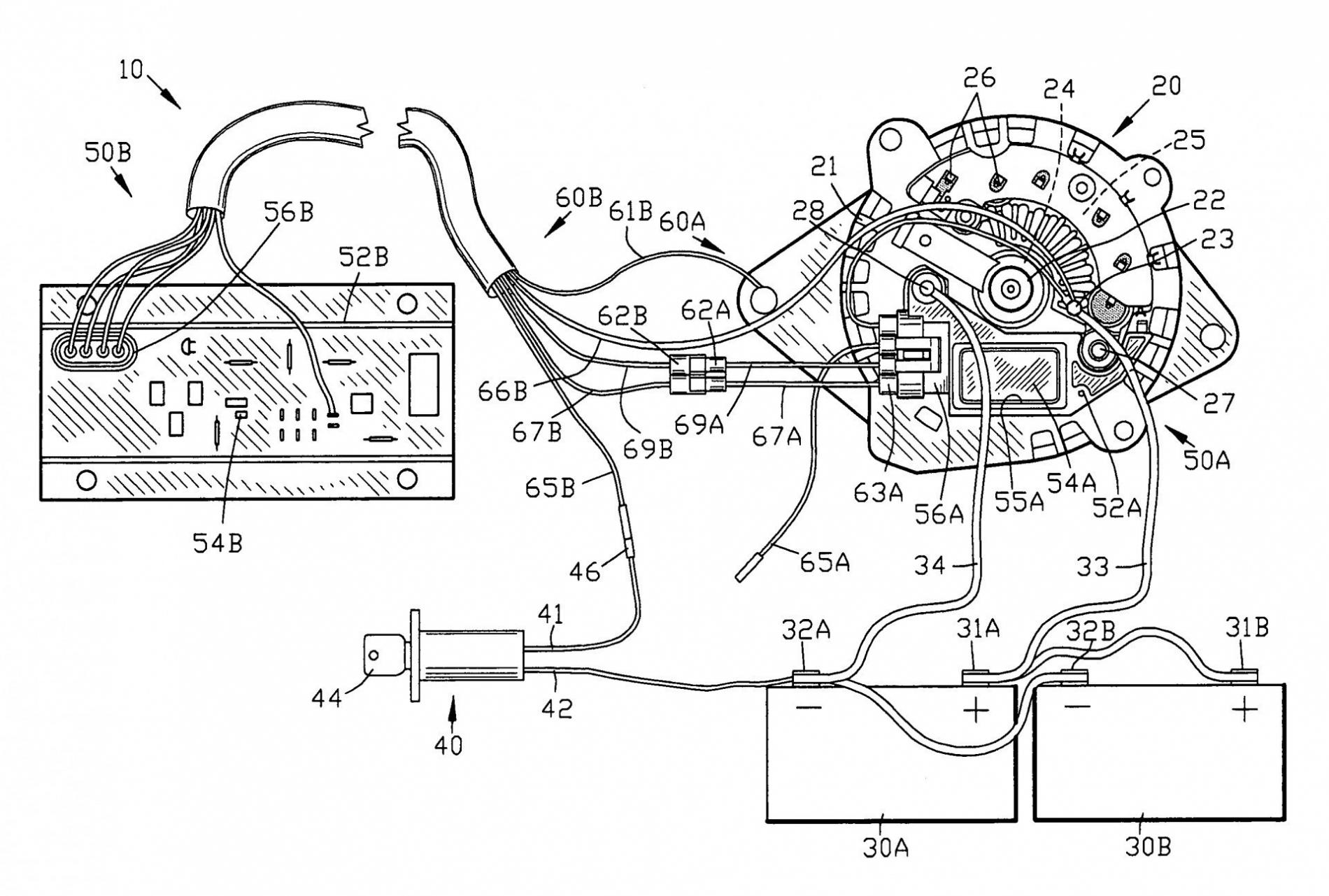 Ford Alternator External Regulator Wiring Diagram   Wiring Diagram - Ford Alternator Wiring Diagram Internal Regulator