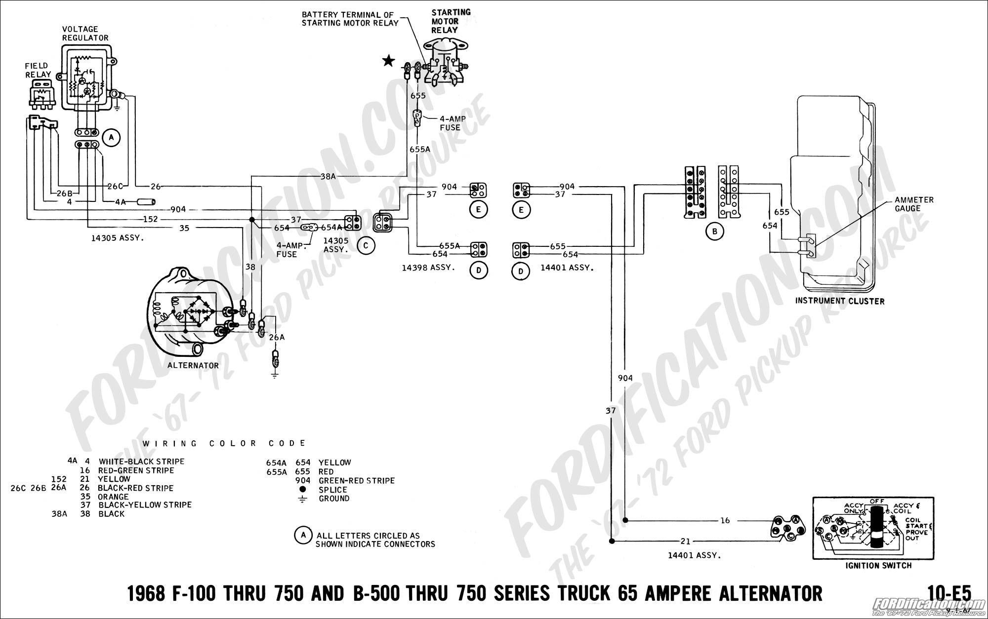 Ford Alternator Wiring Diagram Internal Regulator Unique Simple - Ford Alternator Wiring Diagram Internal Regulator