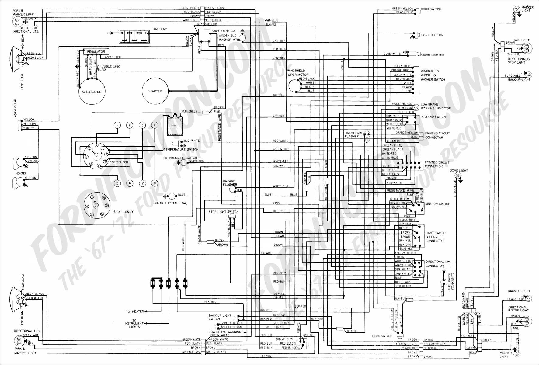 Ford Electrical Diagram - Wiring Diagrams Hubs - Schematic Wiring Diagram