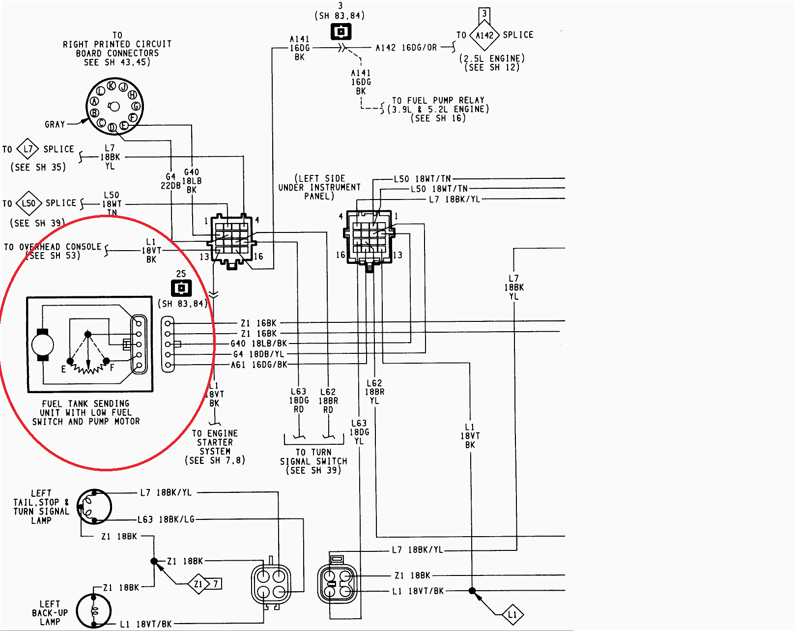 Ford F 150 Fuel Gauge Wiring Diagram - Wiring Diagram Data - Fuel Gauge Sending Unit Wiring Diagram