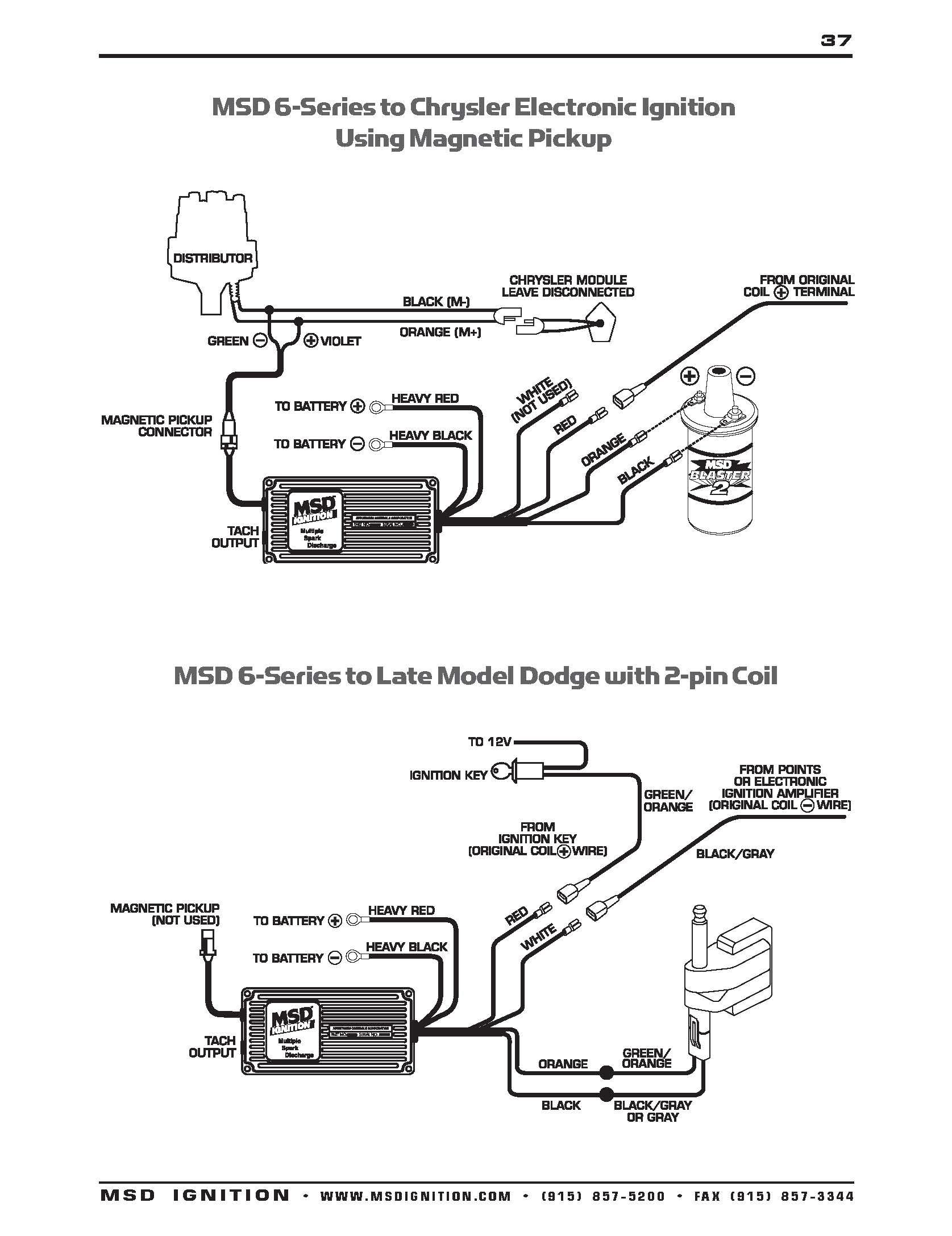 Ford Msd 6Al Wiring Diagram | Manual E-Books - Msd 6Al Wiring Diagram Ford