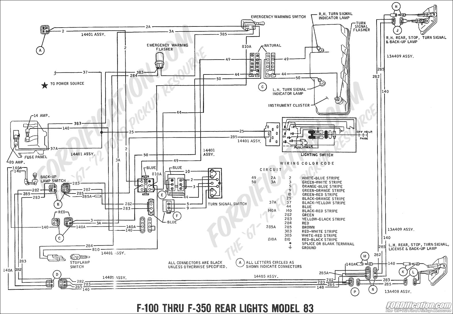 Ford Wiring Harness For Vans - Wiring Diagram Data - Ford Alternator Wiring Diagram