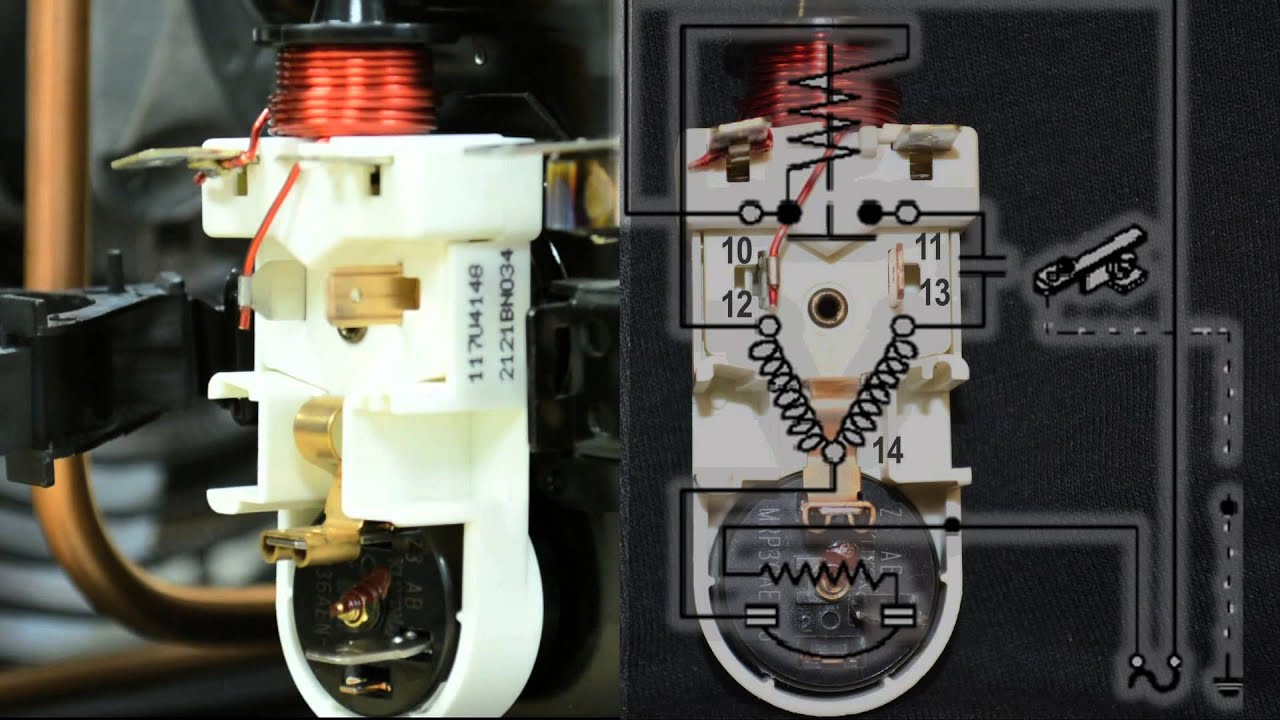 Fractional Compressor Wiring: Simplifying The Wiring Of A Light - Refrigerator Start Relay Wiring Diagram