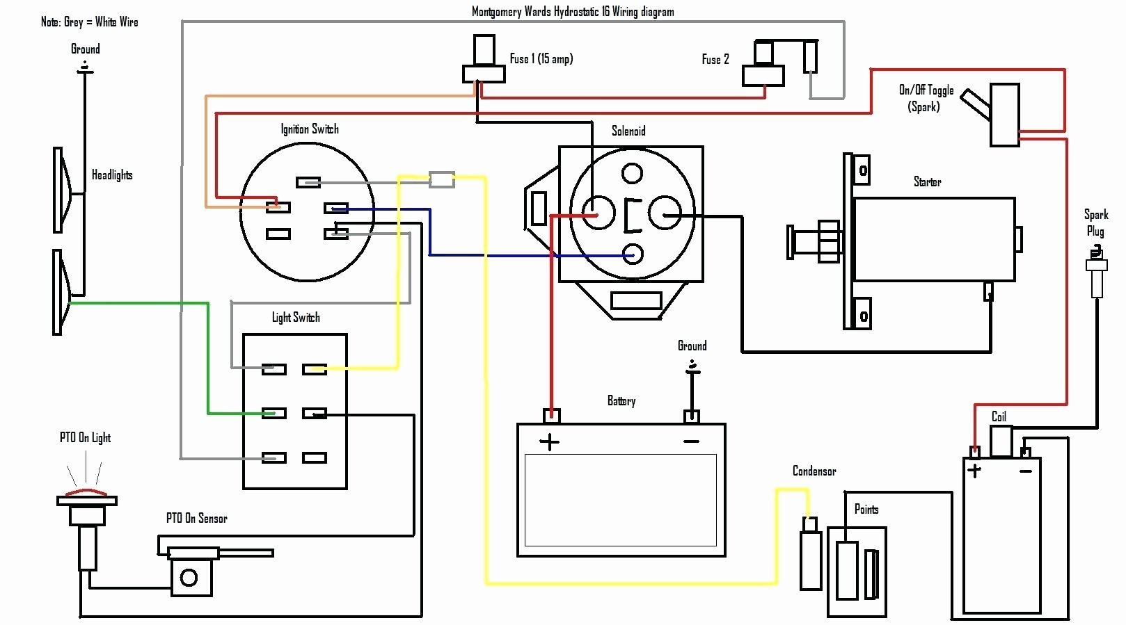 Free Briggs And Stratton Starter Solenoid Wiring Diagram - Briggs And Stratton Starter Solenoid Wiring Diagram