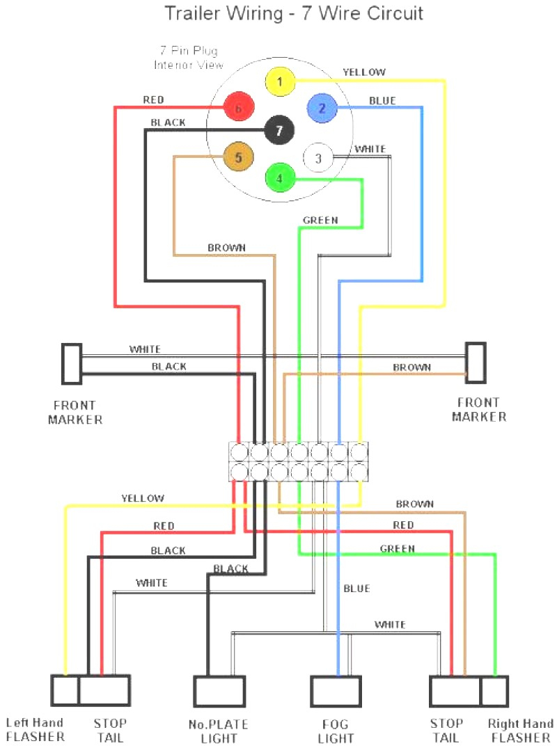 Fresh Led Trailer Lights Wiring Diagram New Update Of 2 - Wiring - Trailer Lights Wiring Diagram