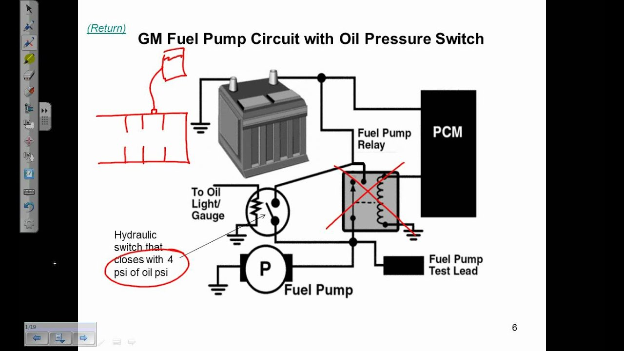 Fuel Pump Electrical Circuits Description And Operation - Youtube - Fuel Pump Wiring Diagram