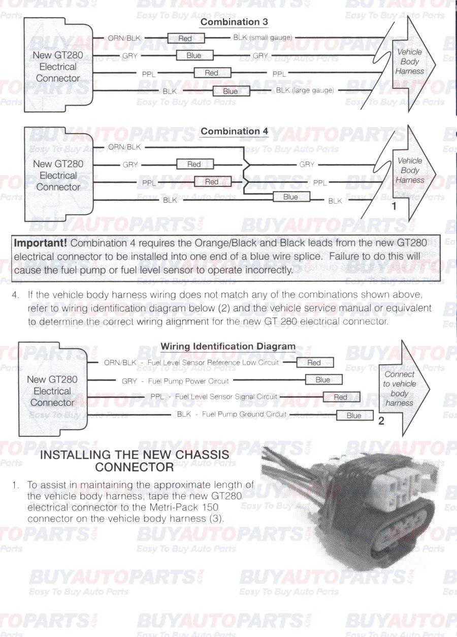 Fuel Pump Install Wiring Instructions - Fuel Pump Wiring Harness Diagram