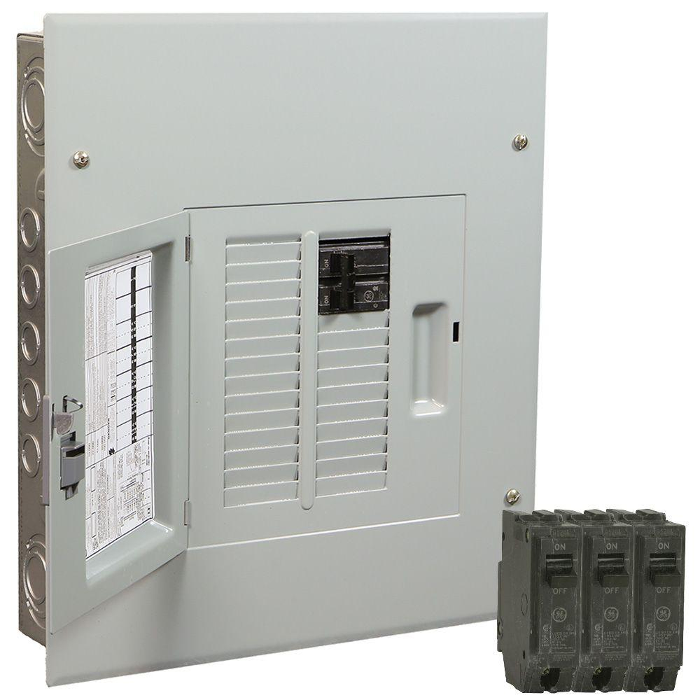 Ge Powermark Gold 100 Amp 12-Space 22-Circuit Indoor Main Breaker - Ge Powermark Gold Load Center Wiring Diagram