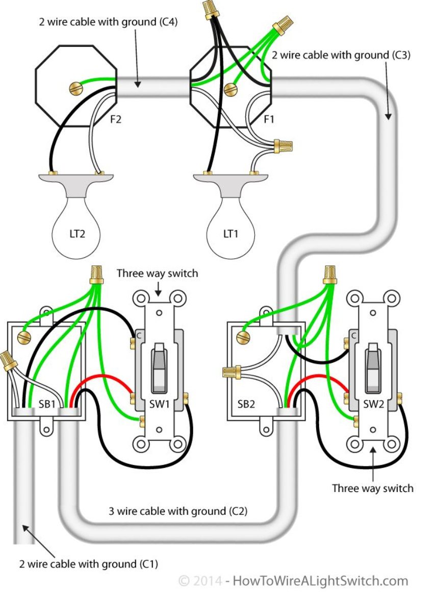 Diagram  3 Way Switch Wiring With Ge Smart Switch Devices